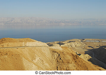 Near the Dead Sea in the Israel
