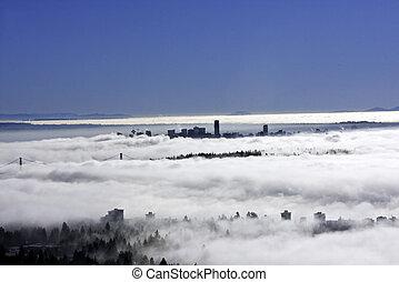 nebbia, vancouver