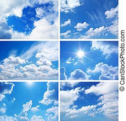 nebe, vybírání