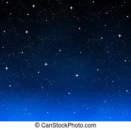nebe, zlatý hřeb, večer