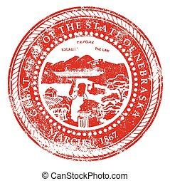 Nebraska Rubber Stamp