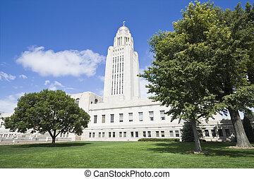 State Capitol of Nebraska in Lincoln.