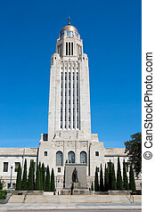 Nebraska State Capitol Tower Dome