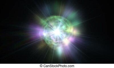 nebula galaxy ray star