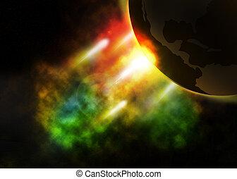 nebula in the universe