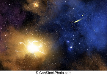 nebula, melkweg