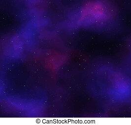 nebula, sterretjes