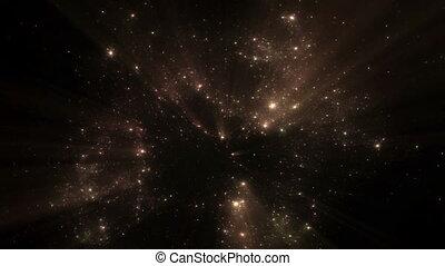 Nebula, Universe, Burst Of Light