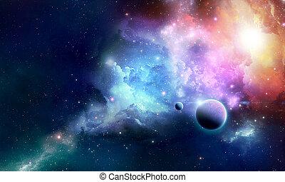 Nebula Z - Stellar nebula cosmos space