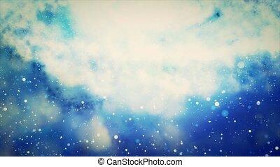 nebulae., 14, groupe, stars., étoiles, naissance
