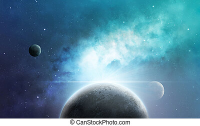 nebulae, planètes
