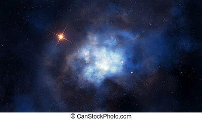 Nebular flight loopable