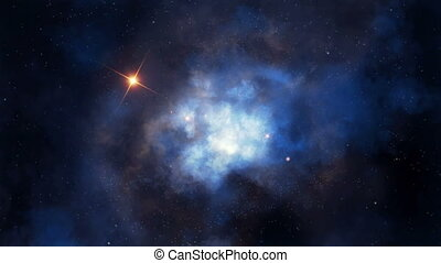 Nebular flight loopable - Seamlessly loopable animation of ...