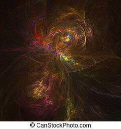 nebulosa, firery