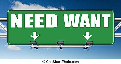 necesidad, o, necesidad, más