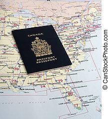 necessário, passaporte