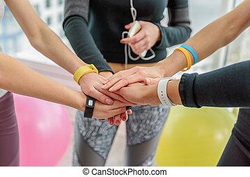 Necessary team spirit for good work
