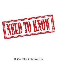 necessidade, para, know-stamp