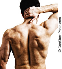 Neck back pain