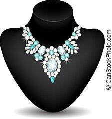 Necklace of diamonds