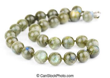 necklace of labradorite