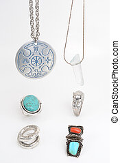 Necklaces and Rings - Handmade jewelry and accessories