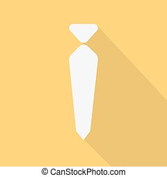 necktie , vector illustration , flat design