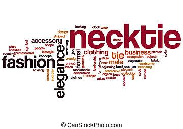 Necktie word cloud