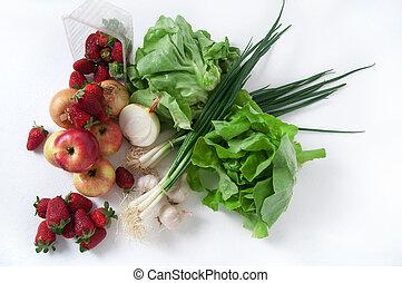 nedávno přivést k zralosti, zelenina