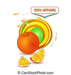 nedávno pomeranč
