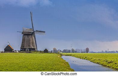 nederländsk, landskap