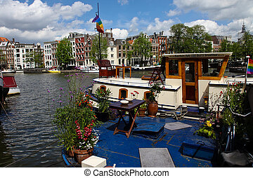 nederland, amsterdam, holland, hoofdstad