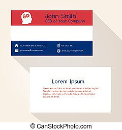 nederland, vlaječka barva, business card, design, eps10