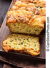 nedves, növényi, bread