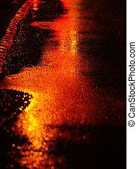 nedves, streeet