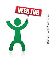need a job banner