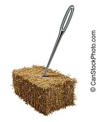 Needle In A Haystack - Needle in a haystack business or...