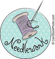 Needle Work Icon