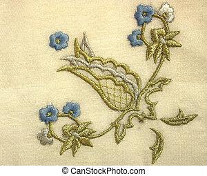 needlework - An example of antique needlework