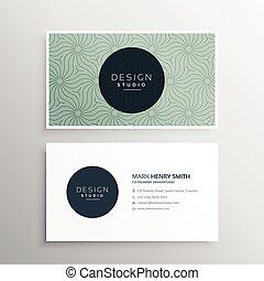 negócio, abstratos, companhia, cartão, modelo