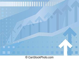 negócio, abstratos, fundo, (vector)