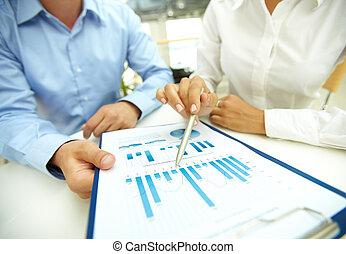 negócio, análise
