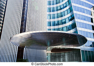 negócio, arquitetura moderna