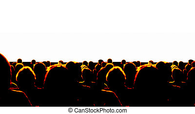 negócio, audiência