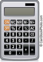 negócio, calculadora