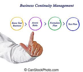 negócio, continuidade, planificação