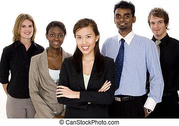 negócio, diversidade
