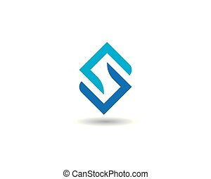 negócio, incorporado, abstratos, unidade, vetorial, logotipo, desenho