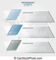 negócio, infographics, projete elementos, para, apresentação