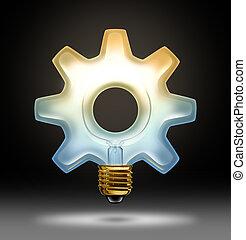 negócio, inovação